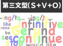 第三文型(S+V+O)